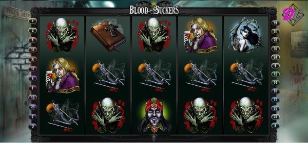 Blood Suckers - Auf welcher Linie ist der Gewinn?