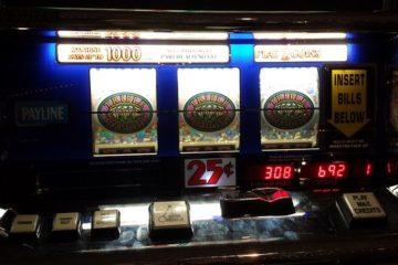 Slotmachine - 1 Gewinnlinie
