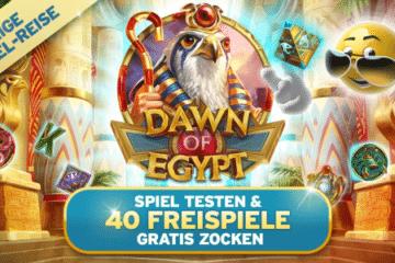 Sunnyplayer Dawn of Egypt Freespins
