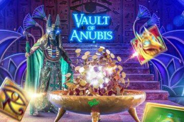 10 Freispiele für Vault of Anubis